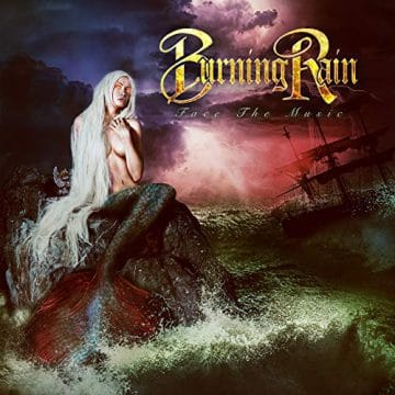 Doug Aldrich's Band, Burning Rain.  Burning-Rain-album-cover-e1547135412558