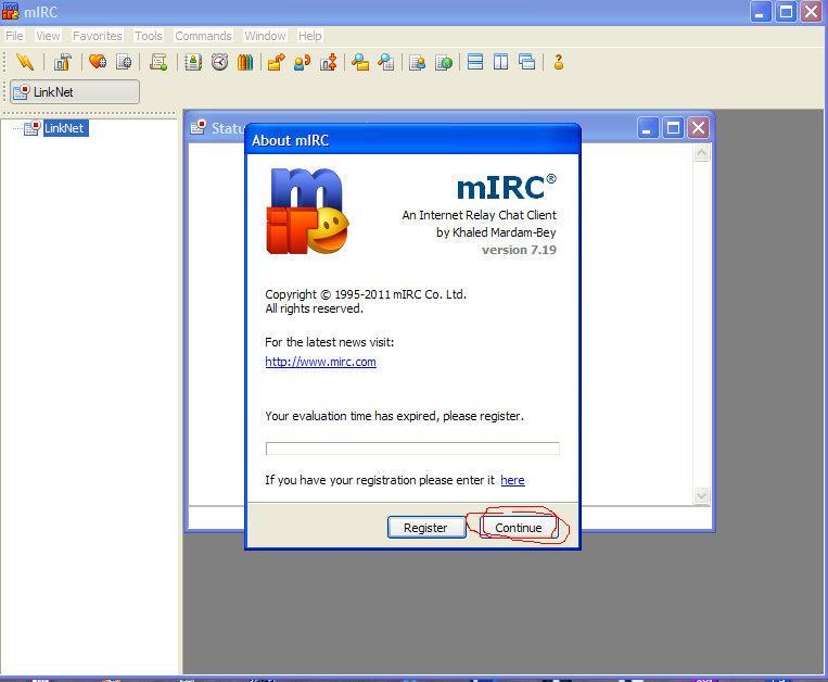 mIRC (chat) 1307956911