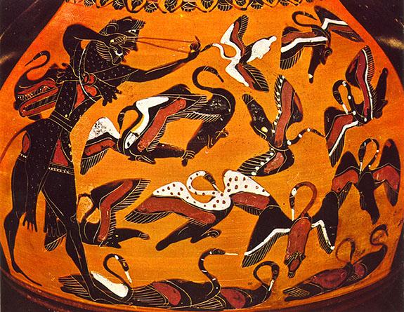 Koje je najefikasnije primitivno oruzije - Page 2 Stymphalian-birds2