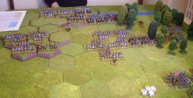 bataille de Vimeiro 1808 avec la règle Tactique 3ygp1g