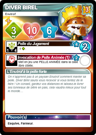 Liste des cartes Français/Anglais/Allemand/Espagnol - Card List French/English/German/Spanish 5icn15