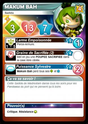 Liste des cartes Français/Anglais/Allemand/Espagnol - Card List French/English/German/Spanish Myk462