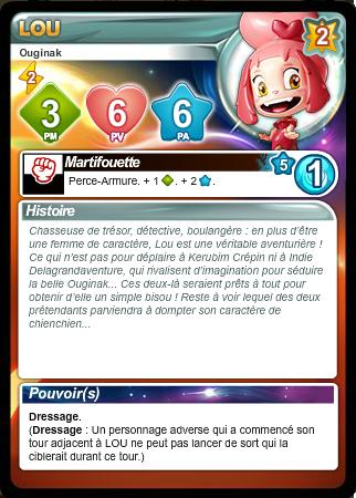 Liste des cartes Français/Anglais/Allemand/Espagnol - Card List French/English/German/Spanish Rcifaz