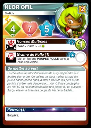 Liste des cartes Français/Anglais/Allemand/Espagnol - Card List French/English/German/Spanish Rirofa