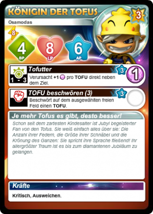Liste des cartes Français/Anglais/Allemand/Espagnol - Card List French/English/German/Spanish Ti2vi2
