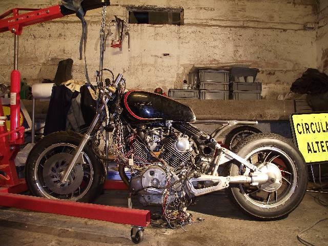 XV 750/1000 héritage racer  0zysfb