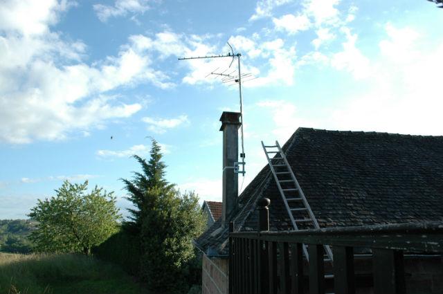 Récupération d'essaim dans une cheminée Aev2bc