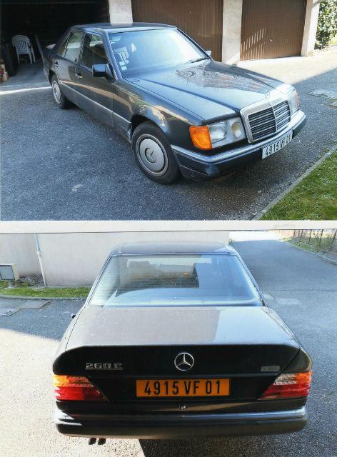 vends W124 berline  Mbphfj