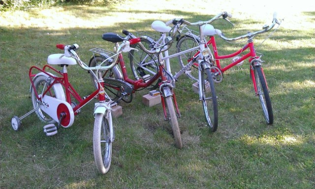 4 vélos enfants (Anquetil, Starnord pliant, MBK...) 5o1ouc