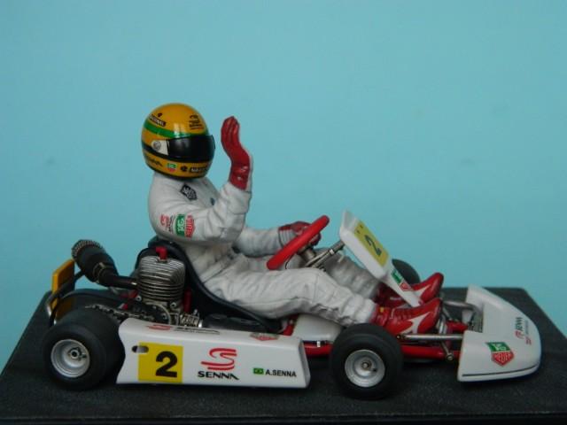 Kart  A. SENNA Bercy 93. Fujimi 1/20ème. fini. Ho2ye6