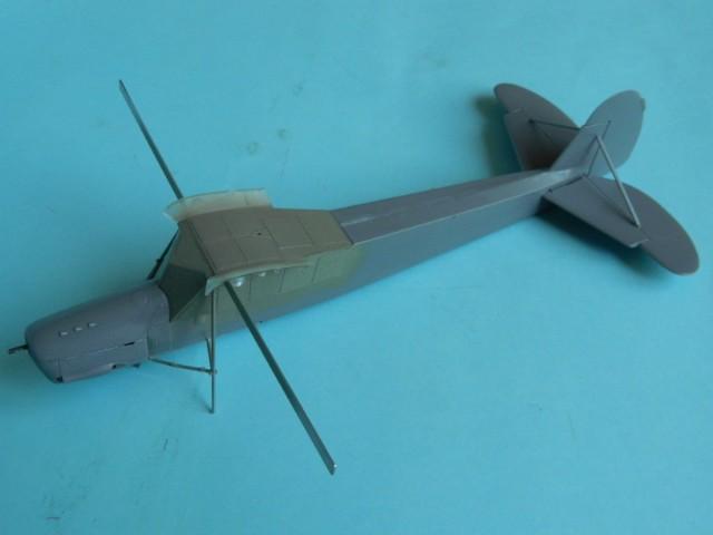 Fieseler Fi-156. Tamiya 1/48. Fertig. Q6gg63
