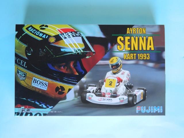 Kart  A. SENNA Bercy 93. Fujimi 1/20ème. fini. Qkno7h