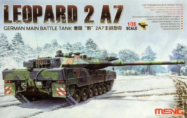 LEOPARD 2 A7. 1/35 Meng. Fertig. R5b8wk