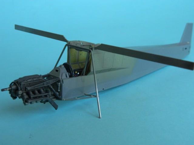Fieseler Fi-156. Tamiya 1/48. Fertig. Rw3o64