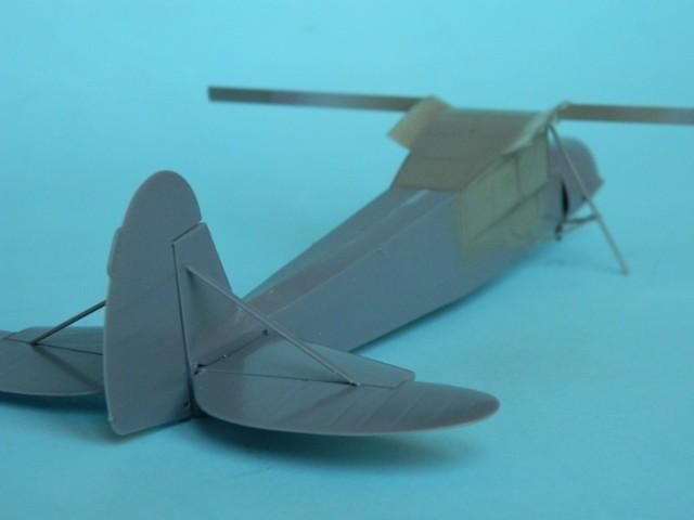 Fieseler Fi-156. Tamiya 1/48. Fertig. Tp6pul