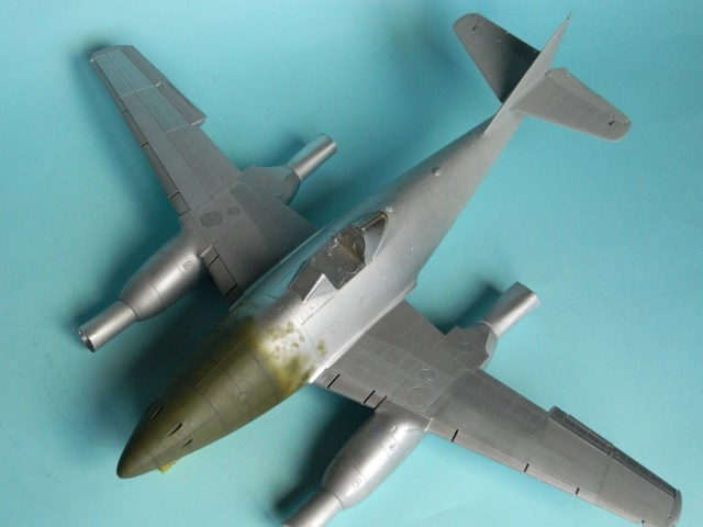 Me 262 A 1a. 1/32 Trumpeter . - Page 2 Z9hdf0