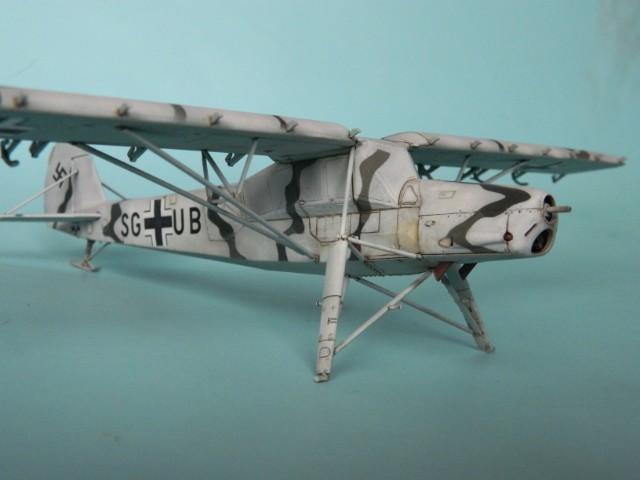 Fieseler Fi-156. Tamiya 1/48. Fertig. 9pukl0