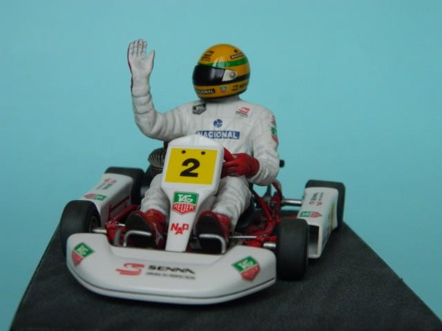 Kart  A. SENNA Bercy 93. Fujimi 1/20ème. fini. Mm0iz9