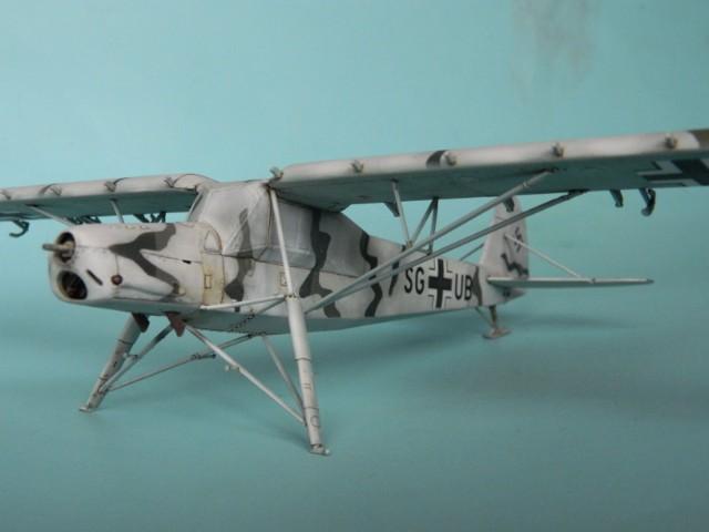 Fieseler Fi-156. Tamiya 1/48. Fertig. U3vvsz