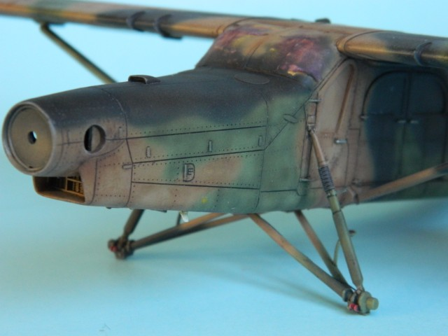 Pilatus PC-6/B2-H4. Roden 1/48.  fini. Ye34q1
