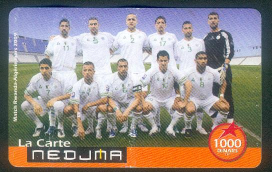 Nedjema : Equipe nationale Nej2