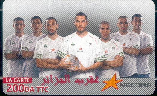 Nedjema : Equipe nationale 10