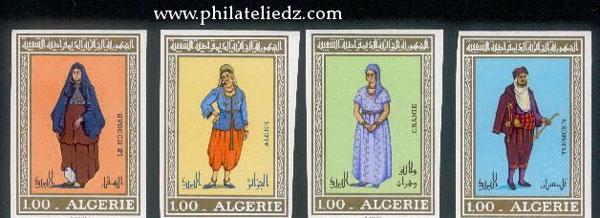 Timbres d'Algérie Non dentelés NDHabit2