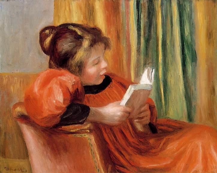 Les jeunes, LISEZ!!! Renoir-la-lecture-a-girl-reading-v-1890-museum-of-fine-arts-houston