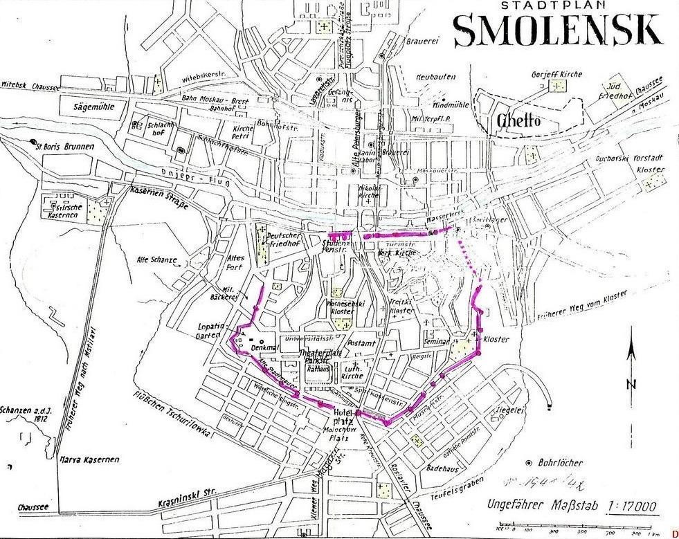 Немецкая карта оккупированного Смоленска 126061-839857aaa639f3665a533414c2b99180