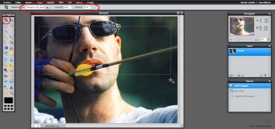 Como preparar fotos a tamaño, para tus perfiles o para los artículos de tu blog Figura-4-550x259