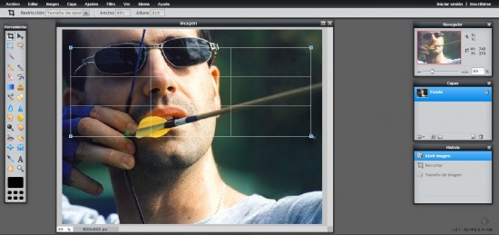 Como preparar fotos a tamaño, para tus perfiles o para los artículos de tu blog Figura-5-550x259