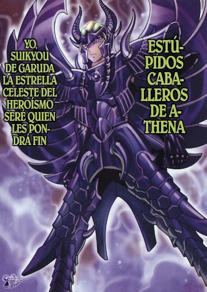 Suikyo de Garuda vs. Cavaleiros de Ouro ND-Suikyo