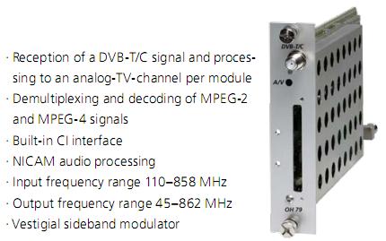 Giải pháp quản lý nội dung truyền hình thông qua cáp RF (DVB-C) Dvb-c