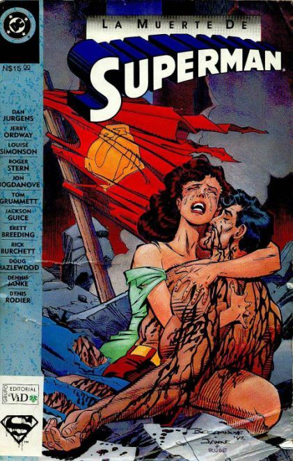 COLECCIÓN DEFINITIVA: SUPERMAN [UL] [cbr] Muerte-de-superman