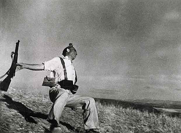 Fotos bélicas históricas, imagenes impactantes y para pensar. Muerte_miliciano