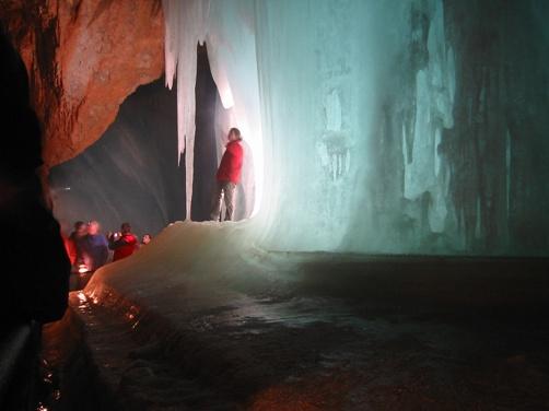 Cuevas de hielo Eisriesenwelt-7