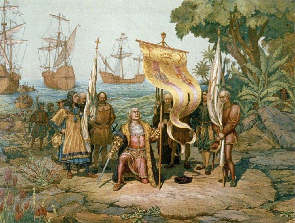 vida y muerte de Isabel I de Castilla Cristobal-colon-y-el-descubrimiento-de-america-1024x773