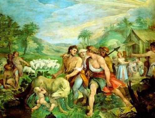 La leyenda de Rómulo y Remo Romulo-y-remo