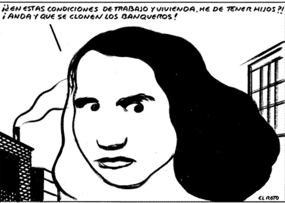 Explotación y opresión contra la mayoría de mujeres [El Roto, viñeta] 1362681873_482131_1362681944_album_normal