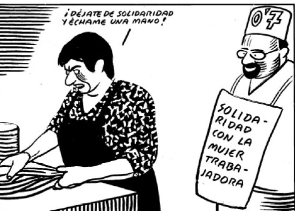 Explotación y opresión contra la mayoría de mujeres [El Roto, viñeta] 1362681873_482131_1362681982_album_normal