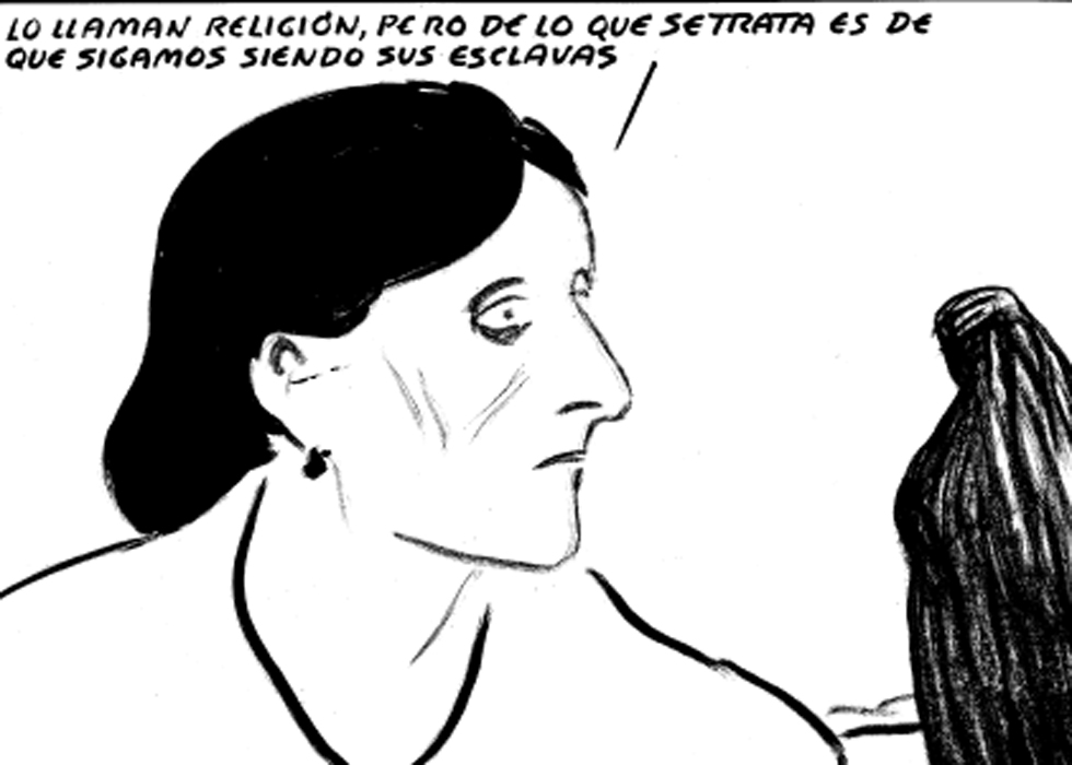 Explotación y opresión contra la mayoría de mujeres [El Roto, viñeta] 1362681873_482131_1362682052_album_normal