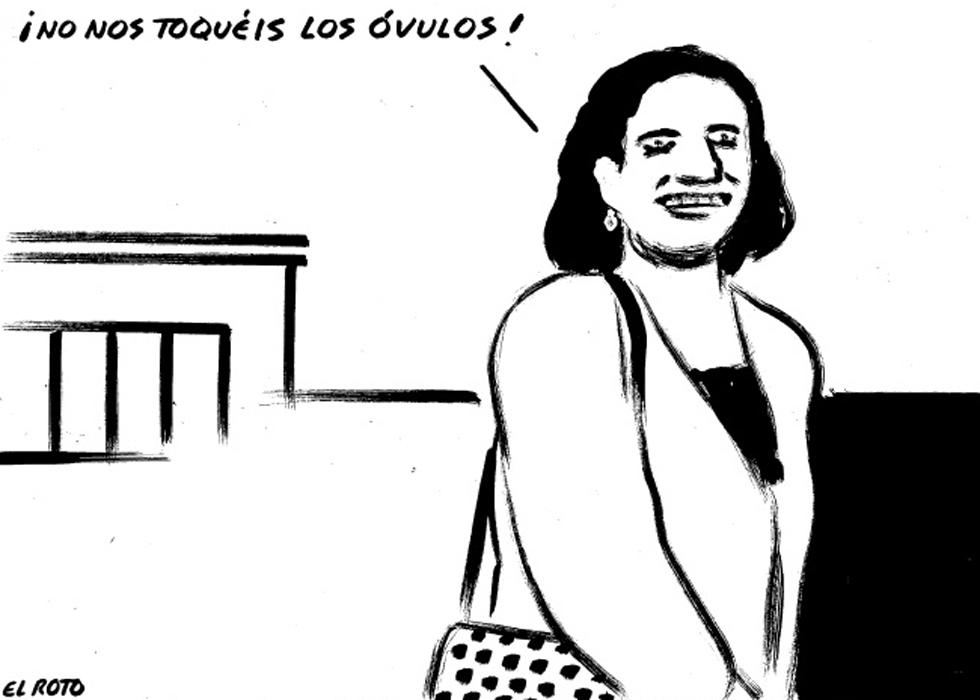 Explotación y opresión contra la mayoría de mujeres [El Roto, viñeta] 1362681873_482131_1362682090_album_normal