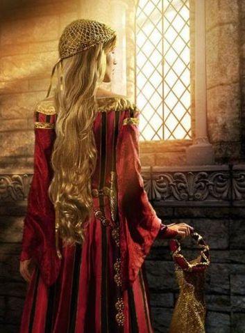 SER GALVANO E LADY RAGNELL Medieval_Lady