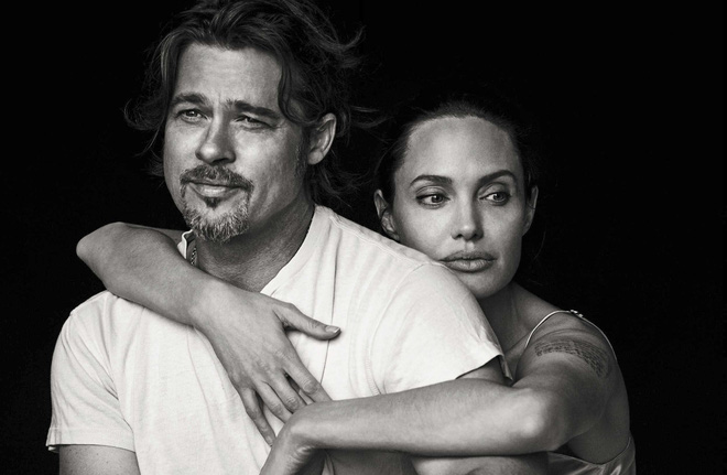"""Brad Pitt và Angelina Jolie ly hôn - cái kết của kẻ """"cướp"""" chồng? Angelina-jolie-brad-pitt-by-peter-lindbergh-3-1474394163405"""