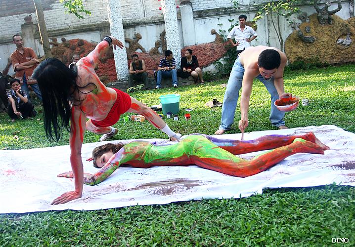 Tìm hiểu về body painting 1