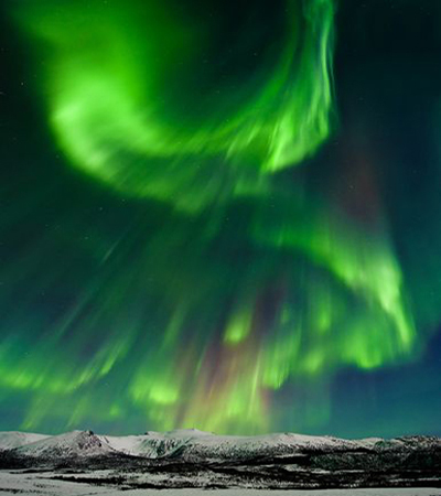 Geomagnetic Storms are Underway - Aurora Alert V_day_aurora_2-14-2011