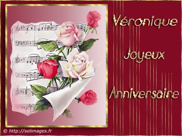 """***  """" Aujourd'hui c'est l' Anniversaire de Véronique1 """" *** Veronique-1"""