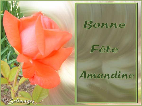 Bon Mercredi Amandine