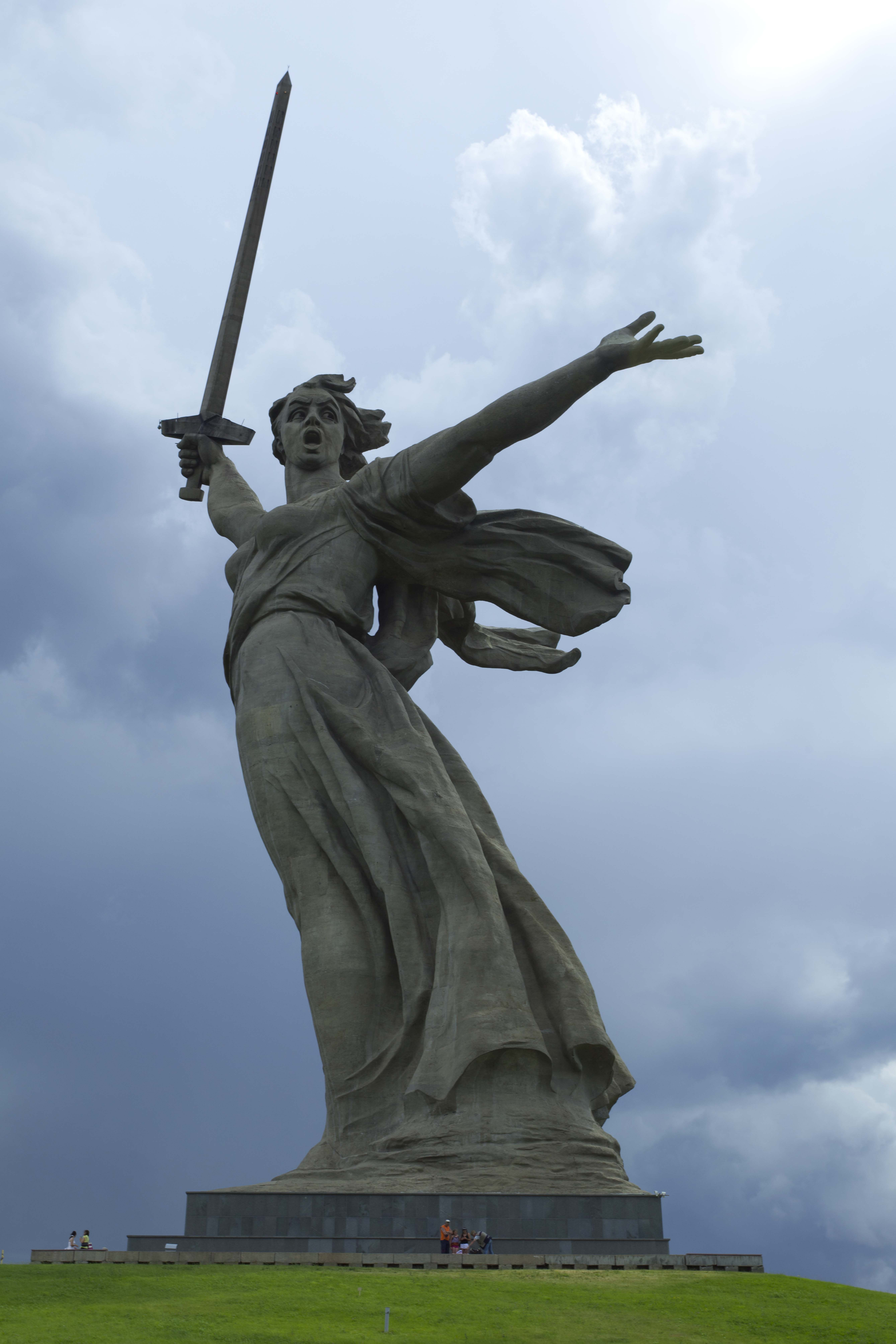 Statue koje oduzimaju dah Mother-of-russia