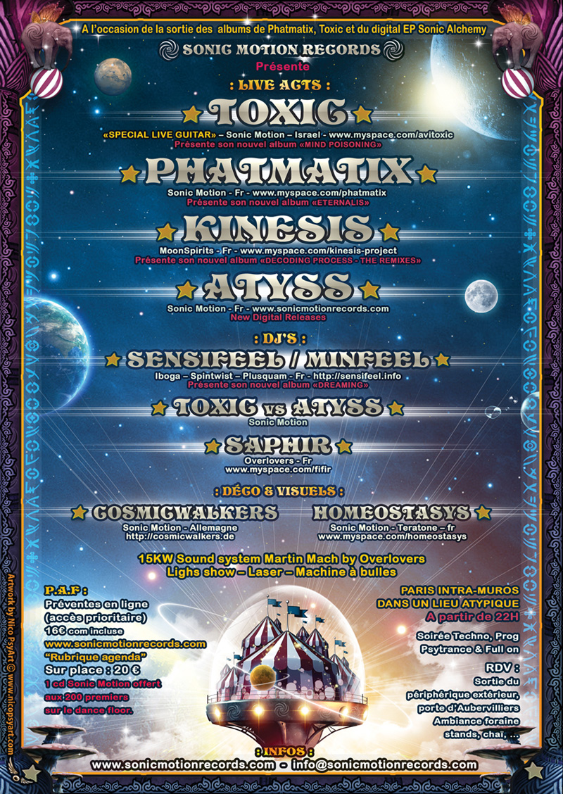 19/11/2011 - SONIC CIRCUS - Sonic Motion Records - Paris Int SONIC-CIRCUS-Back-800